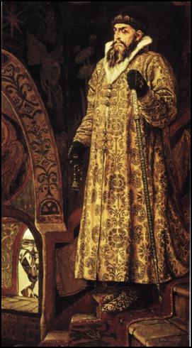 В.М.Васнецов. Царь Иван Грозный.1897г.