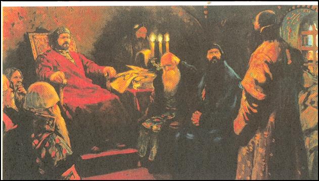 С.В. Иванов. Заседание Боярской думы