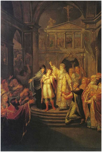 Угрюмов Г.И.  Призвание Михаила Фёдоровича Романова на царство 14 марта  1613 г.
