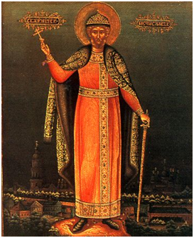 Святой благоверный великий князь Мстислав.