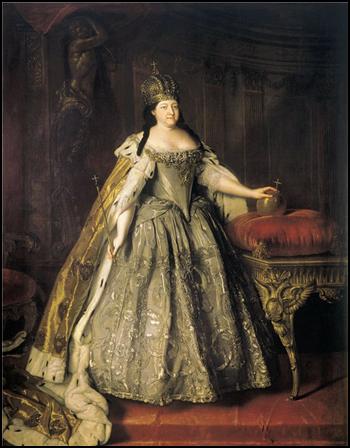Луи Каравакк Портрет императрицы Анны Иоанновны. 1730 г.