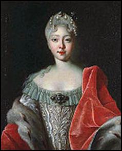 Портрет юной Елизаветы. Луи Каравак, 1720-е годы.