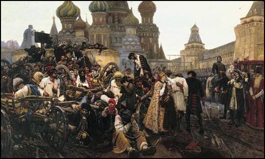 В.Суриков . Утро стрелецкой казни