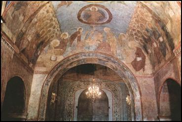 Росписи  Успенского собора во Владимире.