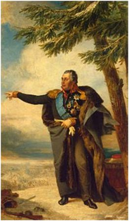 Портрет М. И. Кутузова. Д. Доу. 1829