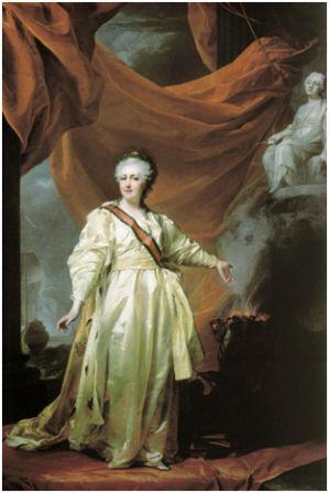 Исторический портрет Историческая эпоха Задание  Исторический портрет Екатерины ii