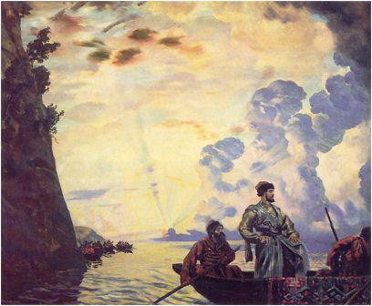 Стенька Разин. Кустодиев Б.М., 1918
