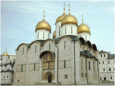 Успенский собор.1475-1479. Московский Кремль