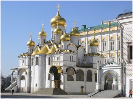 Благовещенский собор Московского Кремля. 1489 г., псковские мастера