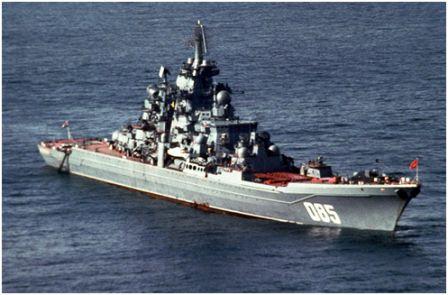 Атомный крейсер « Адмирал Нахимов»