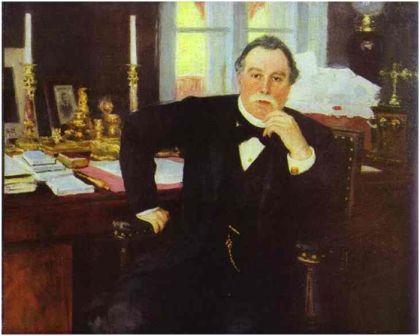 Репин И. Портрет Плеве В.К., 1902г.