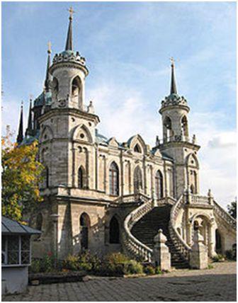 Владимирская церковь в Быково .Приписывается некоторыми авторами Баженову