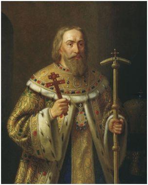 Портрет Патриарха Филарета. Тютрюмов Н.Л.Ранее 1877