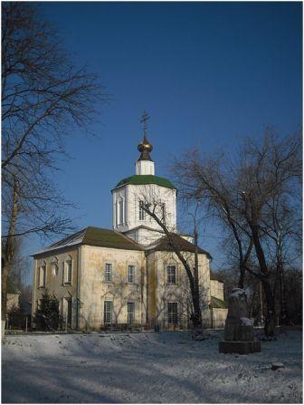 Успенский собор  в Отрочь монастыре в Твери
