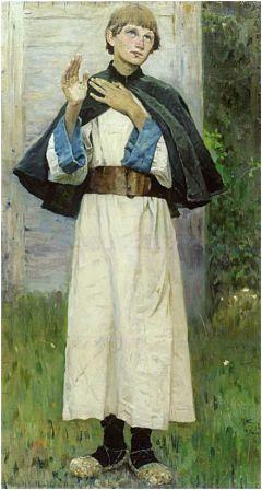 Нестеров М.В. Юность Сергия. 1891