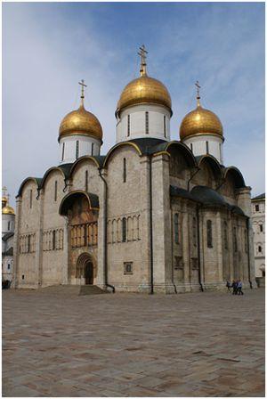Успенский собор в Москве.1475-79.  Автор проекта Аристотель Фиораванти.