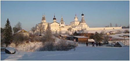 Ферапонтов монастырь 1397г. Вологодская область.