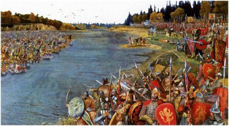 Стояние на реке Угре, 1480г.