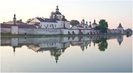 Кирилло-Белозёрский монастырь, основан в 1397, Вологодская область.