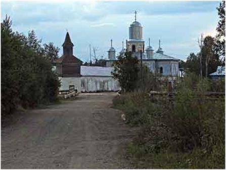 Нило-Сорская пустынь, Вологодская область. Монастырь упразднён в 1961 г.