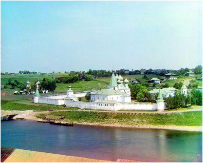 Старицкий Свято-Успенский монастырь, основан в 1 половине 16 века. (Тверская область)