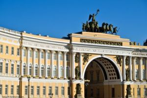 Главный штаб. Санкт -Петербург