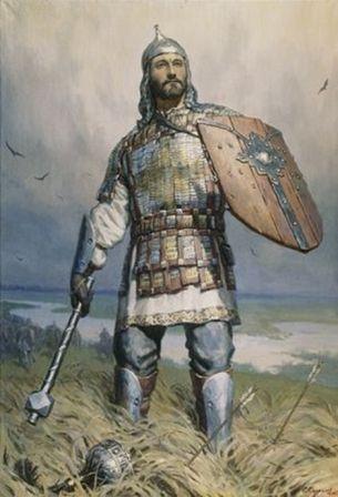 Дмитрий Донской. Картина художника С.Кириллова, 1205 г.