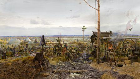 Великое стояние на Угре. Картина художника П.В.Рыженко.